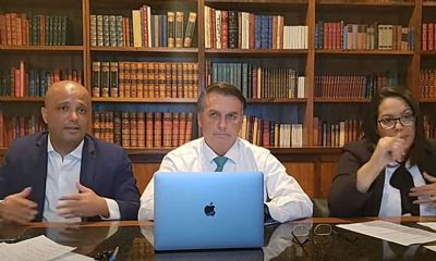 Em live, Bolsonaro diz que sem voto impresso um lado pode