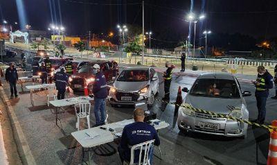 Operação prende 14 motoristas sob efeito de álcool em Várzea Grande