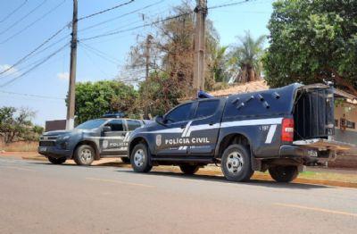 Dois adultos são presos e adolescentes apreendidos em investigação sobre homicídio de mulher ocorrido em Guiratinga