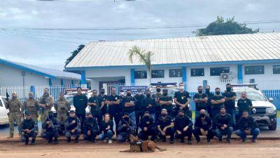 Operação cumpre 20 mandados contra alvos investigados por tráfico e associação criminosa na região de Arenápolis