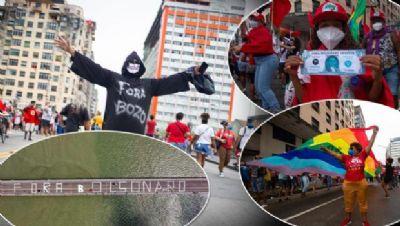 200 cidades já confirmaram atos contra Jair Bolsonaro no sábado (24)
