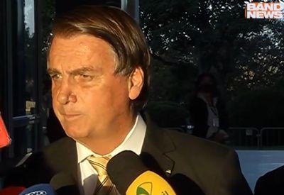Após reunião com Luiz Fux, Bolsonaro sai defendendo voto impresso e cloroquina