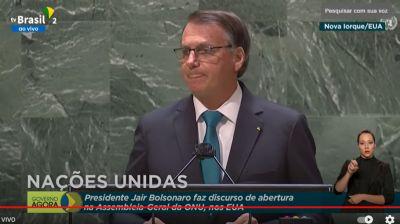 Bolsonaro defende na ONU o ''tratamento precoce'' sem eficácia para Covid-19