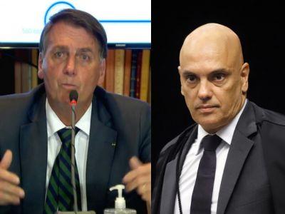 Moraes prorroga dois inquéritos que investigam Jair Bolsonaro