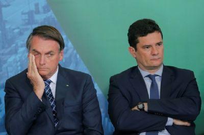 Jair Bolsonaro perde para Moro no segundo turno, aponta pesquisa