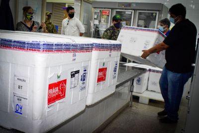 MT distribui aos municípios 54.900 mil doses de vacina contra a Covid-19
