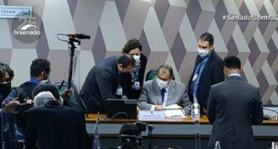 CPI ouve Cristiano Carvalho, representante da Davati. Ele revela que militares pediram 'comissão'