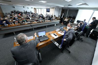 Paulo Rebello, presidente da ANS, depõe na CPI da Covid