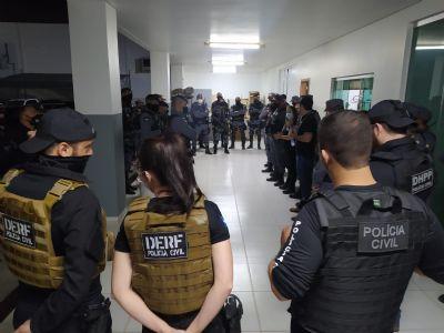 Operação cumpre mandados contra alvos envolvidos no tráfico de drogas em Primavera do Leste