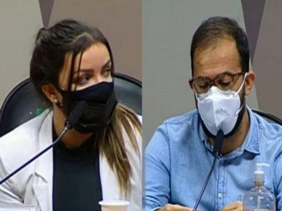 Senadores apoiam acareação de Emanuele e Luis Ricardo Miranda