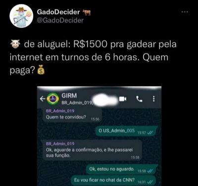 GADO DE ALUGUEL: R$ 1.500,00 POR 6 HORAS