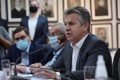 Governador lança edital para construção da 1ª ferrovia estadual que vai ligar Rondonópolis a Cuiabá, passando por Mutum e Lucas