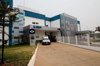 Governo já executou 75% das obras do Hospital Regional de Sinop
