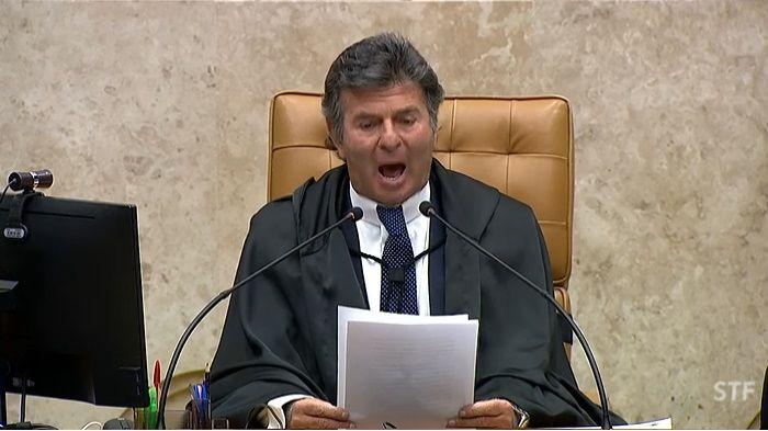 Fux cancela reunião com chefes dos Poderes e manda um duro recado a Bolsonaro