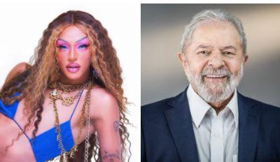 CANTORA PABLLO VITTAR ESPERA CANTAR NA POSSE DE LULA