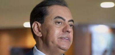 Marcos Tolentino, apontado pela CPI como sócio oculto da FIB Bank, depõe na CPI da Covid