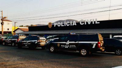 Polícia Civil cumpre 48 mandados em operação contra organização criminosa deflagrada em Barra do Garças