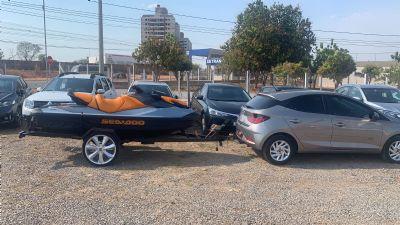 Apreensões buscam desarticulação financeira de organização criminosa voltada para roubo de veículos e crimes conexos