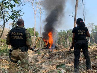 PF deflagra operação para combater garimpos ilegais em terra indígenas no Mato Grosso