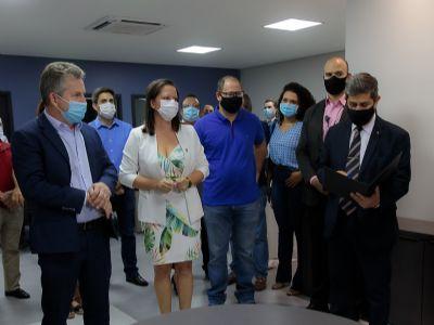 Laice Souza assume a Secretaria de Comunicação de Mato Grosso