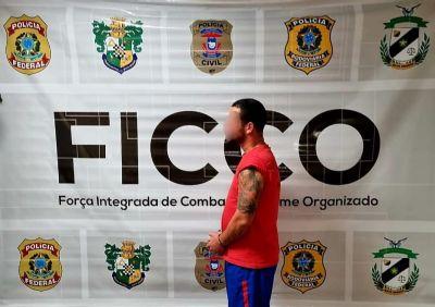 PF prende em Várzea Grande homem que executou delegado na Bahia em 2010