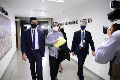 CPI ouve Willian Santana, consultor do Ministério da Saúde